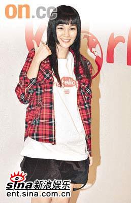 香港网上年轻偶像选举怀孕歌手谢安琪领先(图)
