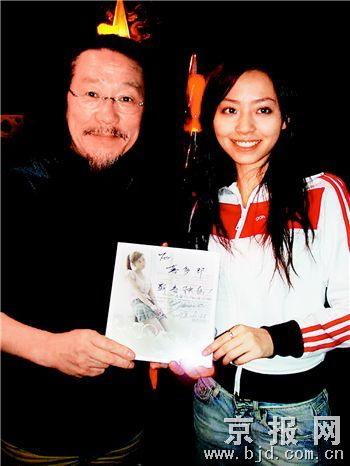 张靓颖美国与音乐大师喜多郎合作获专业肯定