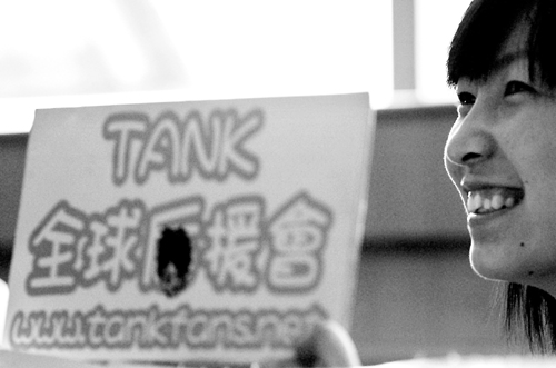 TANK携第二张专辑来昆明坦言女友要像Selina