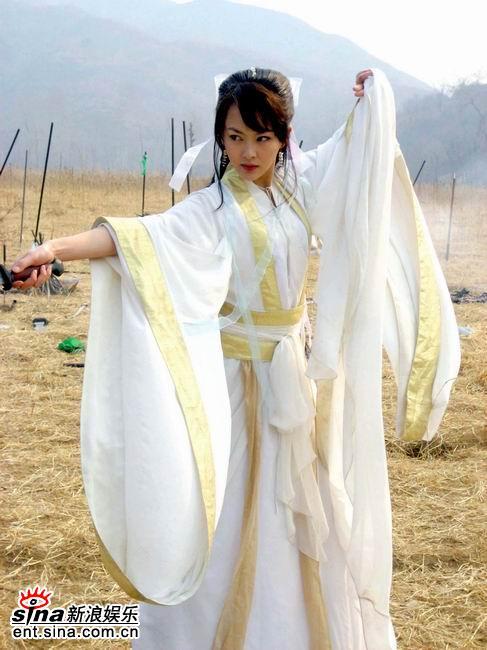 唐嫣成为《诛仙》女主角与任贤齐演绎缠绵爱情