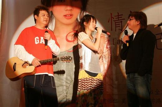 资料图片:黄淑惠和朋友们--老师的鼓励