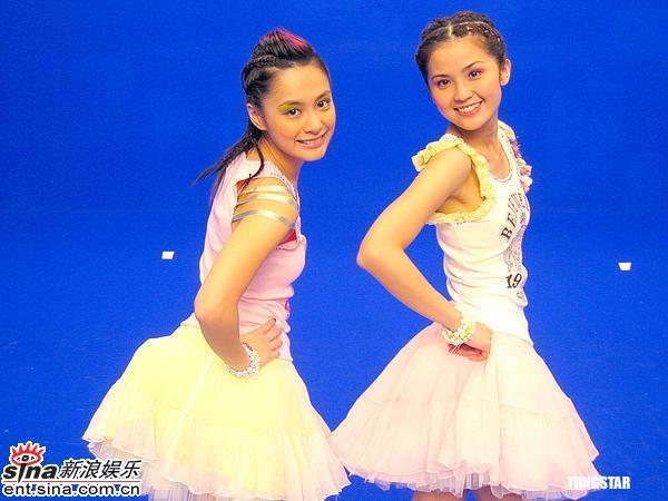 组图:Twins为首张国语专辑《见习爱神》拍MV