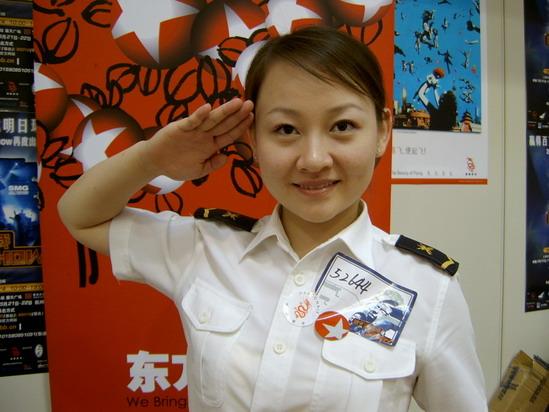 图文:东方卫视莱卡我型我秀上海遭遇真假老外(11)