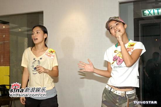 组图:Twins、At17将同台飙歌打趣要挑战F4