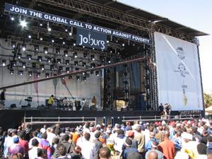 """""""Live8""""南非演唱会真正""""巨星""""不需要演唱"""