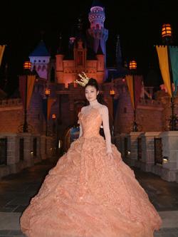 组图:陈慧琳化身童话公主