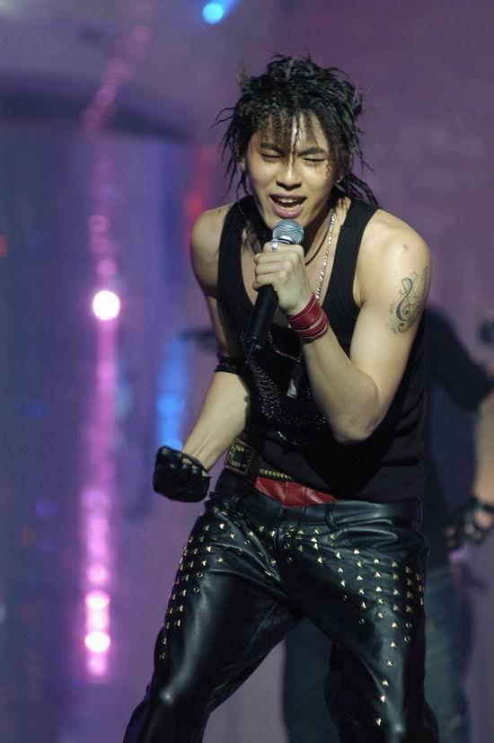 图文:Se7en现场热歌热舞掀起小小高潮