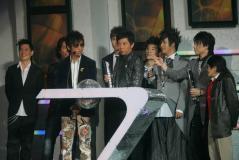 组图:华语榜中榜颁奖礼男星有味道齐飙嘻哈风