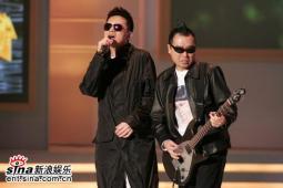 组图:刘德华舞兴大发TVB劲歌颁奖礼变舞会