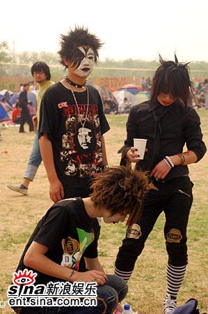图文:2006迷笛音乐节第三天-视觉少年