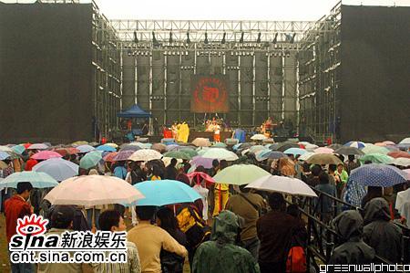 图文:2006迷笛音乐节第四天-雨中现场