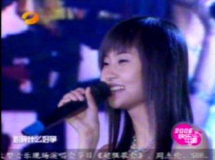 图文:超女长沙唱区7进5淘汰赛--党宁现场演唱