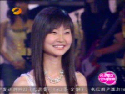 图文:超女长沙唱区7进5淘汰赛--党宁笑容甜美