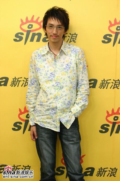 图文:林志炫做客新浪--高音在乐坛上独树一帜