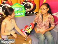 超女长沙赛区第四名张美娜做客新浪聊天(组图)