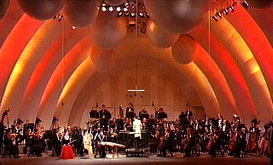 组图:第一届为中国喝彩--好莱坞音乐歌舞晚会