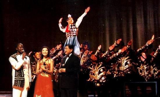 组图:第五届为中国喝彩--南非大型音乐歌舞晚会