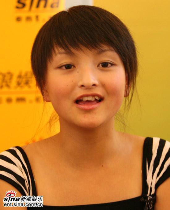 图文:2006超级女声复活赛拉票现场-吴雅梦