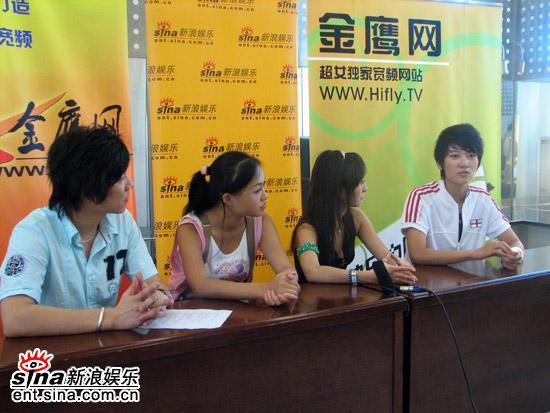 图文:2006超级女声复活赛-新浪娱乐鼎力支持