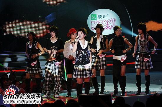 图文:2006超级女声复活赛-沈阳七位超女登台