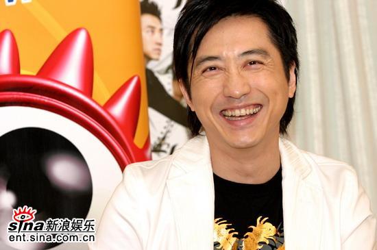 图文:庾澄庆做客-演唱会就是大家一起过把瘾