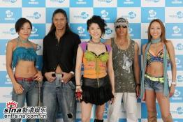 组图:a-nation音乐节结束群星亮相中国媒体会