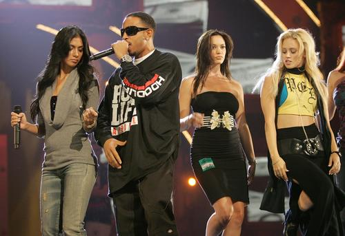 组图:MTV颁奖礼将举行Ludacris与小野猫彩排