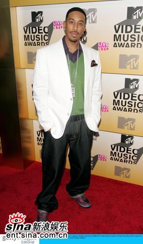 图文:2006MTV音乐大奖红地毯--Ludicris
