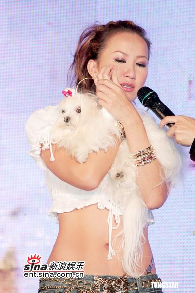 组图:李玟发新片秀蛮腰想起过世爱犬当场飙泪