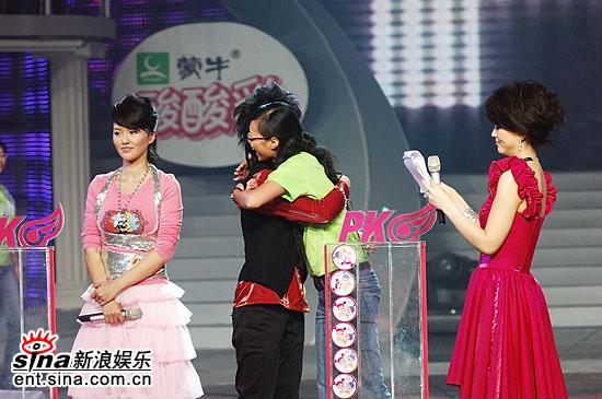 图文:2006超级女声总决赛--谭维维PK尚雯婕