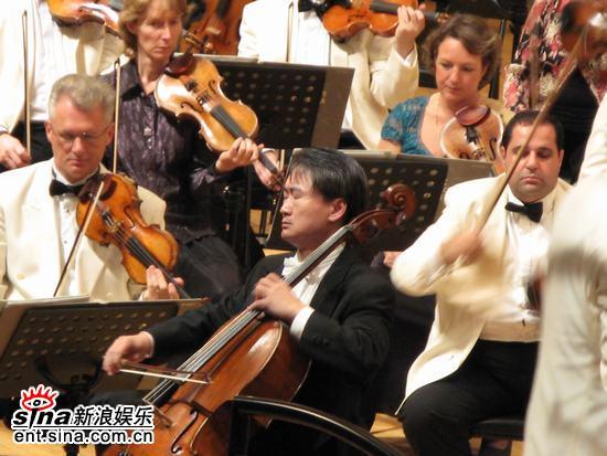 图文:王健牵手BBC交响乐团演出-演出准备