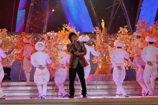 图文:南宁民歌节盛大开幕--沙宝亮献唱
