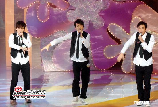 图文:IFPI香港唱片销量奖--Sunboy'z