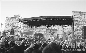 长假在北京就玩音乐节7天35万人狂欢(组图)