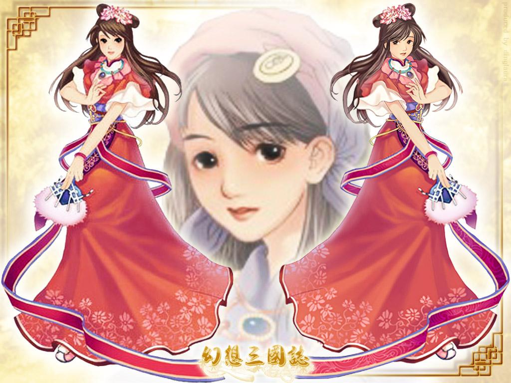【轮播图片】丁琳手绘现代桌面壁纸下载图1 (1024x768) 丁琳.