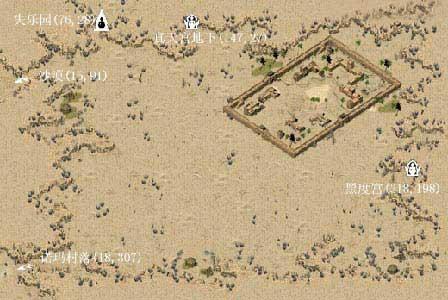 最新地图 村庄城镇示意图
