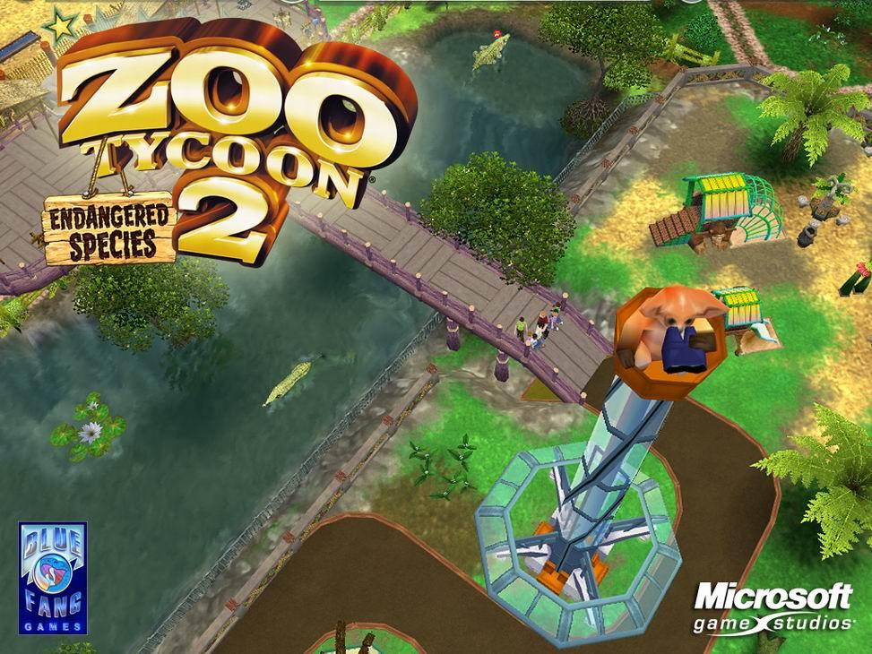 《动物园大亨2:濒危物种》(Zoo Tycoon 2: Endangered Species)是《动物园大亨2》的资料片,在游戏中你能很荣幸地与全世界最稀有、最珍贵的濒危动物打交道,你的光荣使命就是将这些动物从灭绝的边缘拉回来。想想