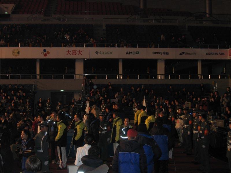 WEG2005第3季度北京总决赛开幕式图片