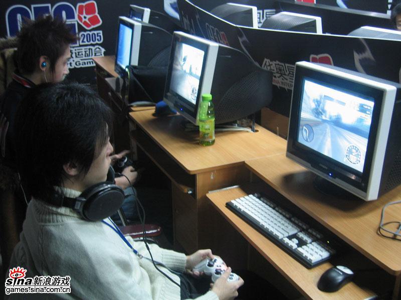 Intel杯CEG2006大师赛第3日图片集