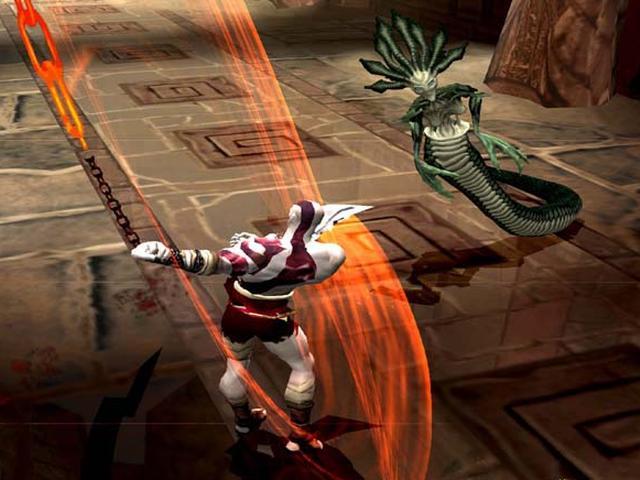SCEA原创游戏《战神》游戏画面