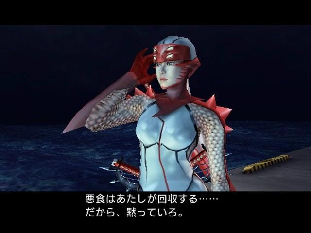 sega忍者动作游戏《女忍》画面