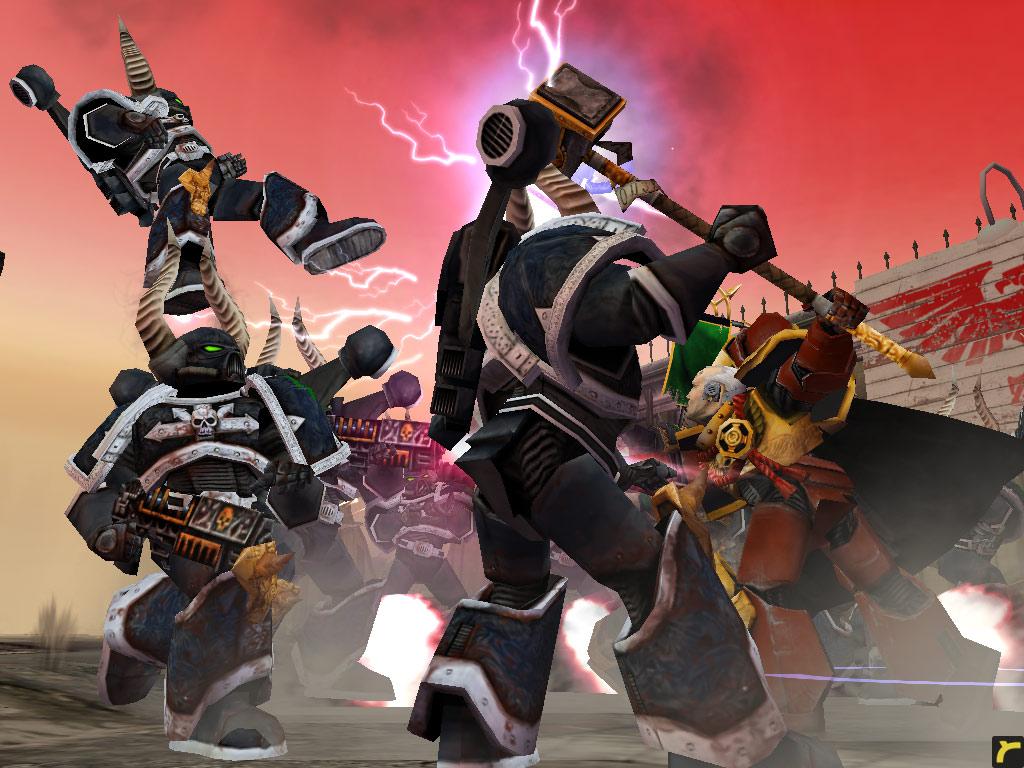 《战锤40000:战争黎明》游戏画面(1)