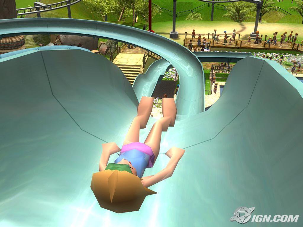 过山车大亨3 水上乐园 游戏画面 2