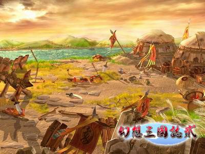 新浪游戏_神幻与爱情《幻想三国志2》暑假见面