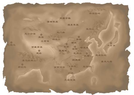 唐朝时期的地图