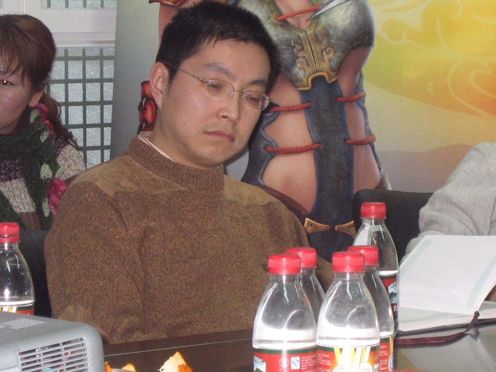 网游《天骄II》内测前瞻会现场照片