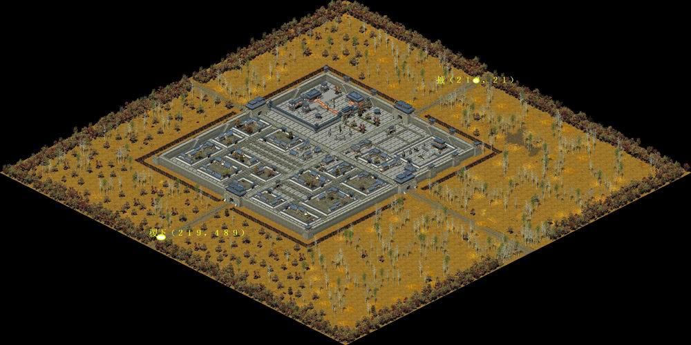 《天骄2》齐国地图