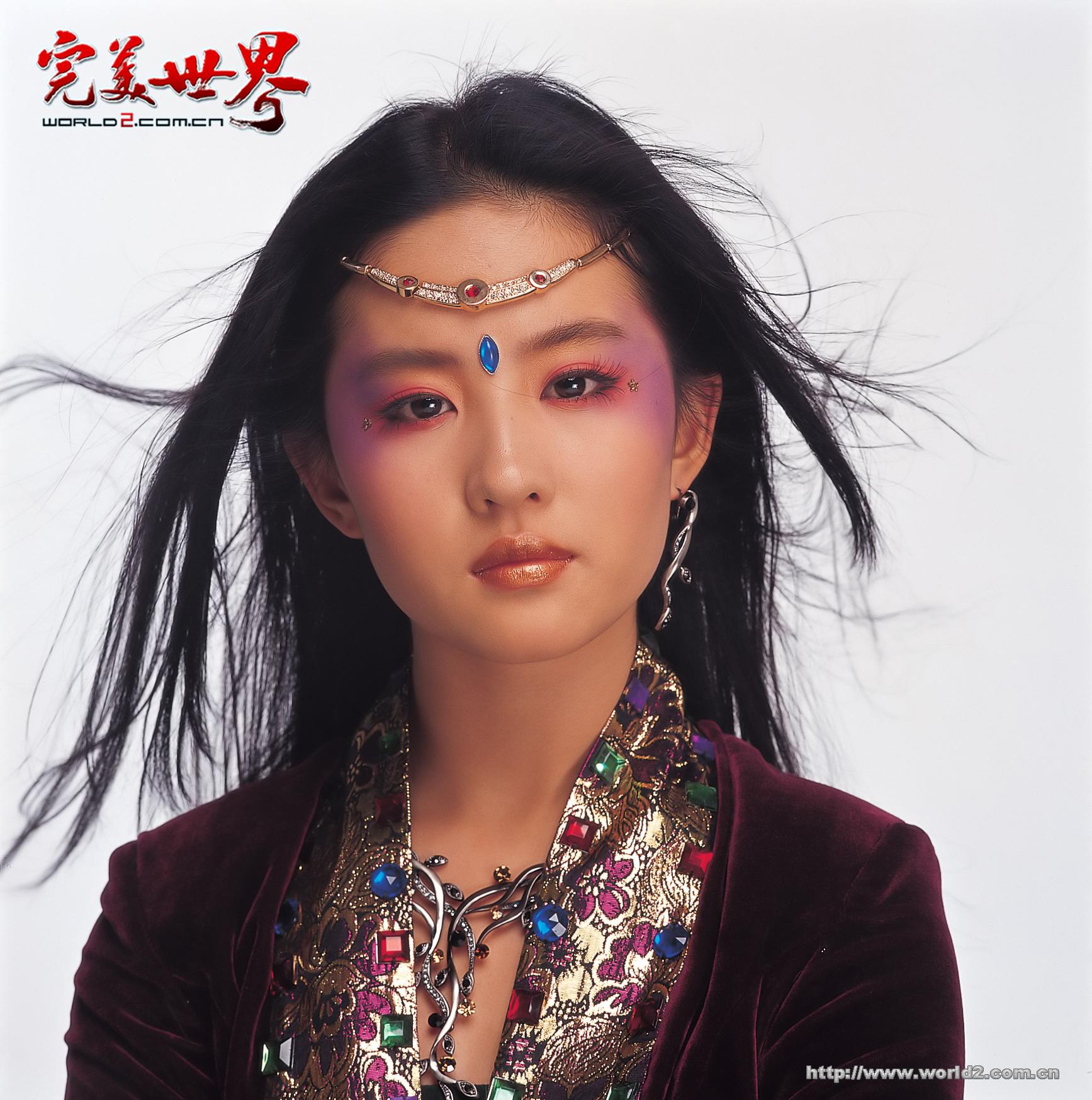 刘亦菲代言神话背景奇幻网游完美世界