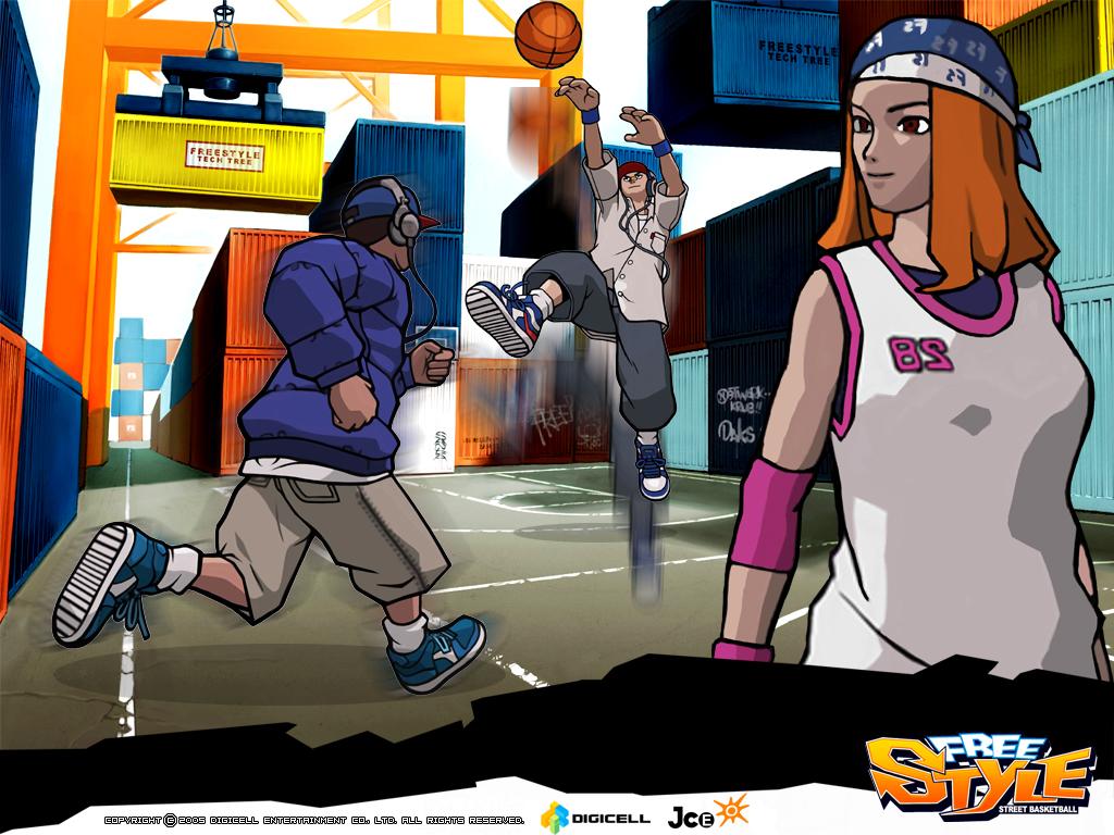 《街头篮球》精美壁纸欣赏