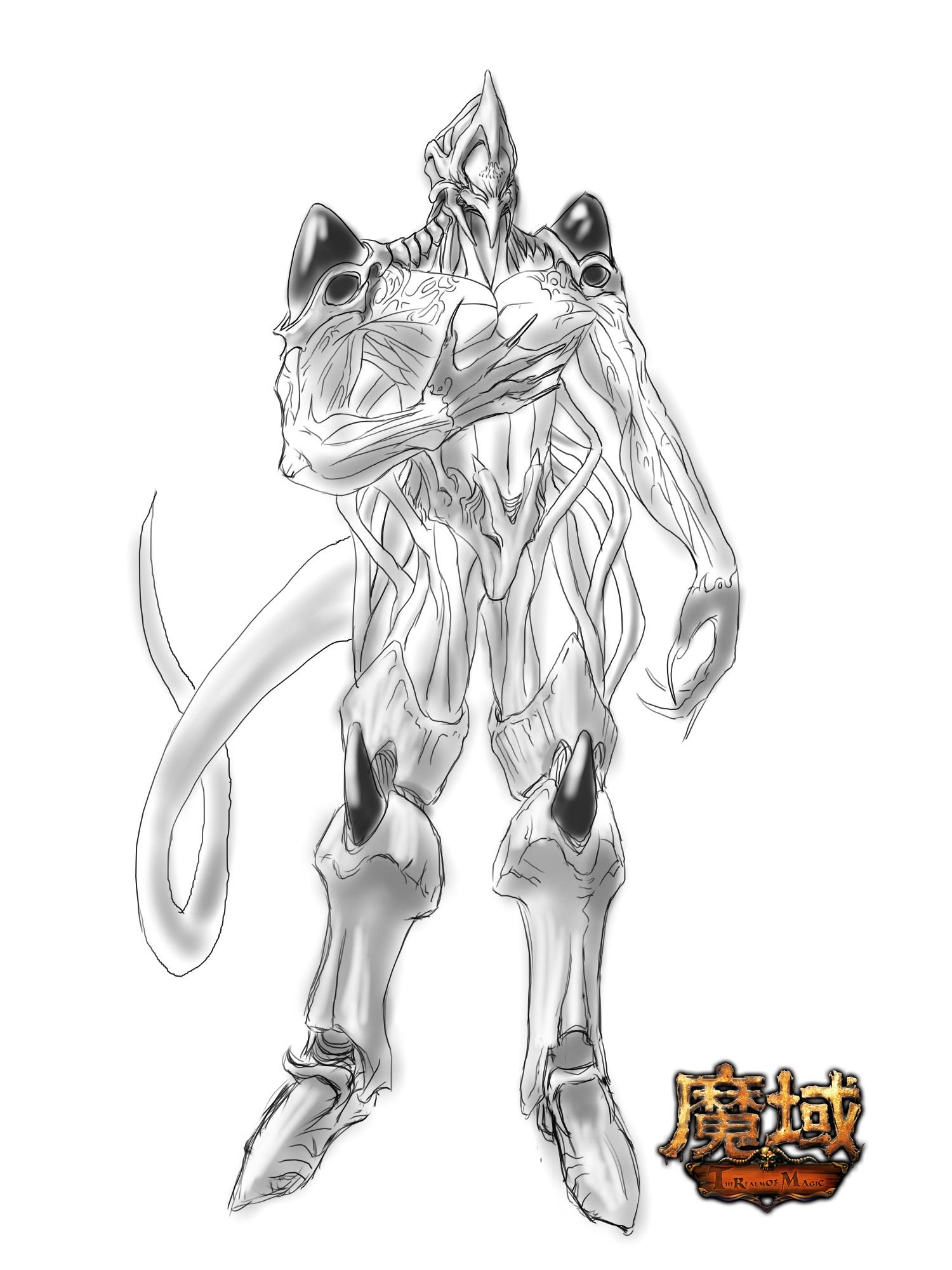 《魔域》幻兽图片 战士攻血型(2)